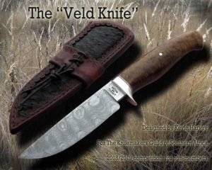 The Veld Hunting Knife by MS Kevin Harvey